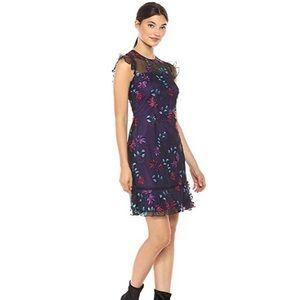 NWOT! Donna Morgan Embroidered Dress sz 8!